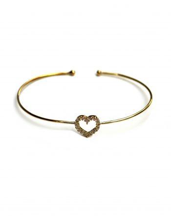 bracciale-a-filo-oro-con-cuore-medio-zirconi