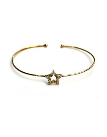 bracciale-a-filo-oro-con-stella-media-zirconi