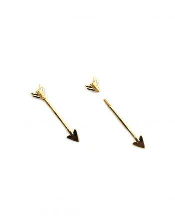 monorecchino-freccia-piercing-oro