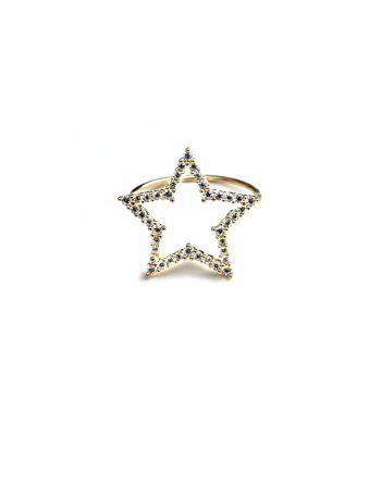 anello-stella-grande-zirconi-oro