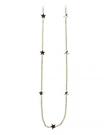 collana lunga con stelline 1