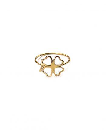 anello-filo-quadrifoglio-oro