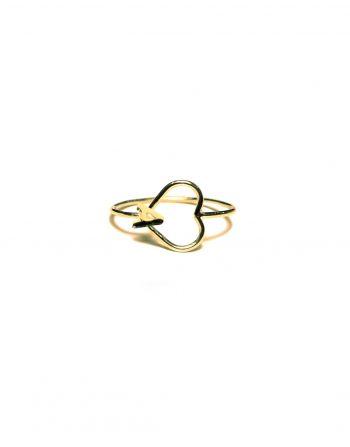 anello-filo-iniziale-cuore-filo-oro