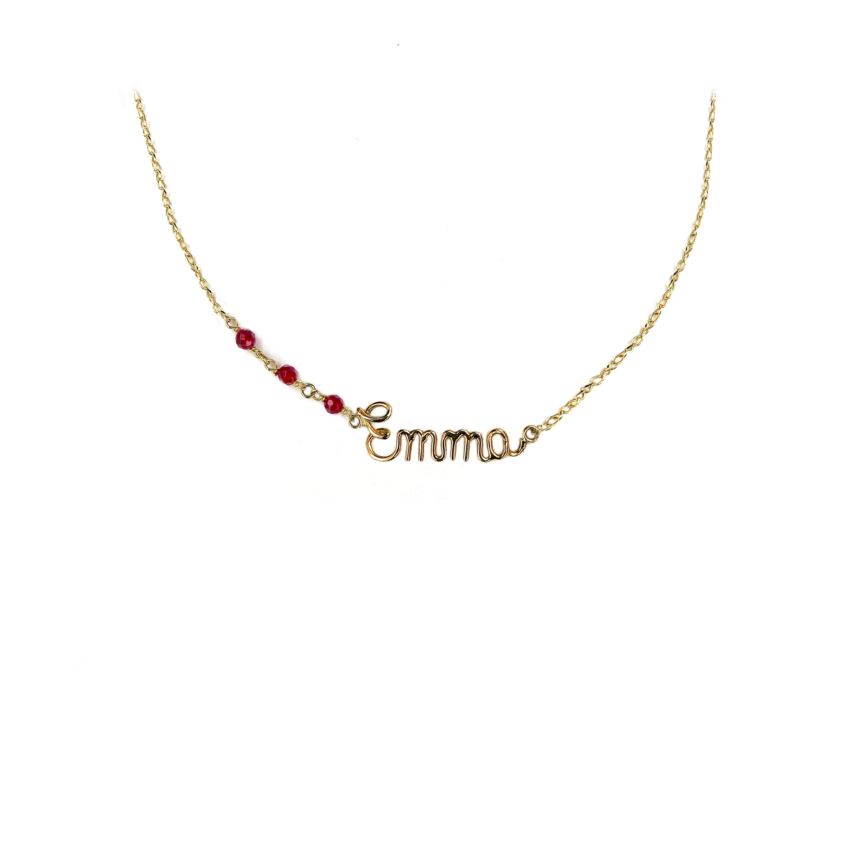jewellery lou of anna london name products mg grace necklace