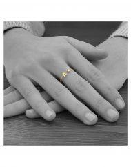 anello micro iniziale A e brillante 5punti_390€_2