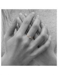 anello micro iniziale A e brillante 5punti_390€_5