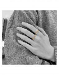 anello scritta Sofia Giulia
