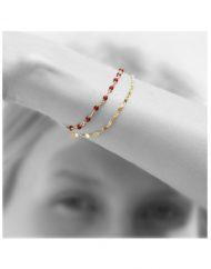 bracciale legame oro_indossato_alexandra