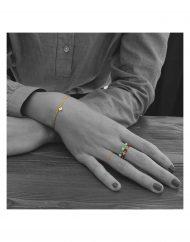bracciale-micro iniziale-oro_indossato