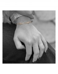 bracciale-nome-Ludovica-indossato