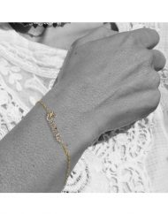 bracciale-oro-nome-corsivo-indossato