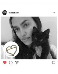 Anello cuore zirconi – IRINA SHAYK_
