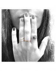 anelli doppie fedina incrociata e parallela_oro