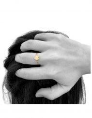 anello cuore medio indossato_2