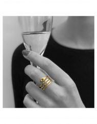 anello serpente bicchiere