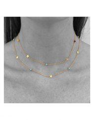 girocollo-choker-multicolor-micro-stelle-alternate-oro-turchesi-40cm-oro