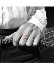 anello cactus indossato_bn