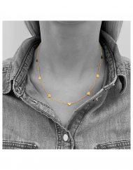 girocollo-cuori-alternate-oro-indossato